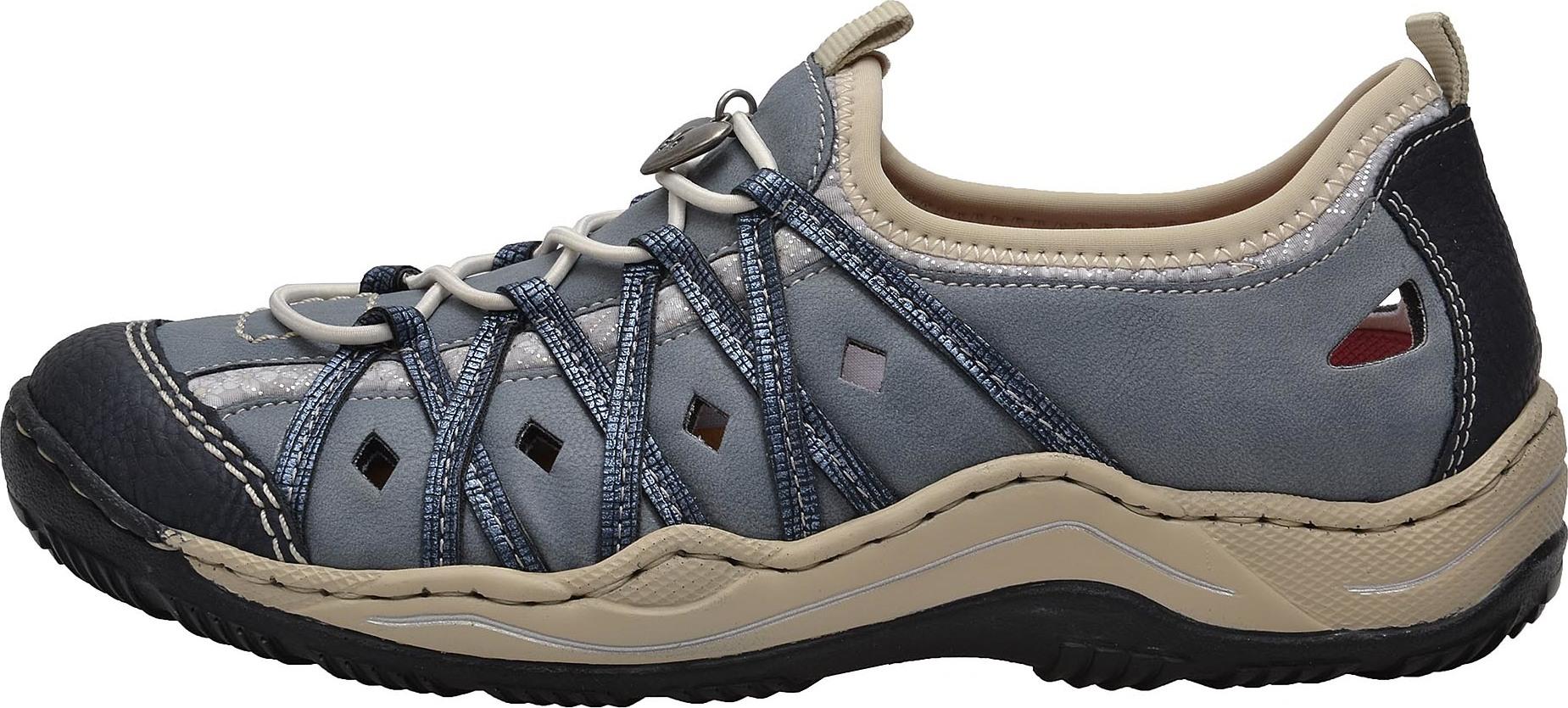 d15f26a508 Dámská obuv RIEKER L0567 14 BLAU KOMBI F S 8 – Rieker Antistress