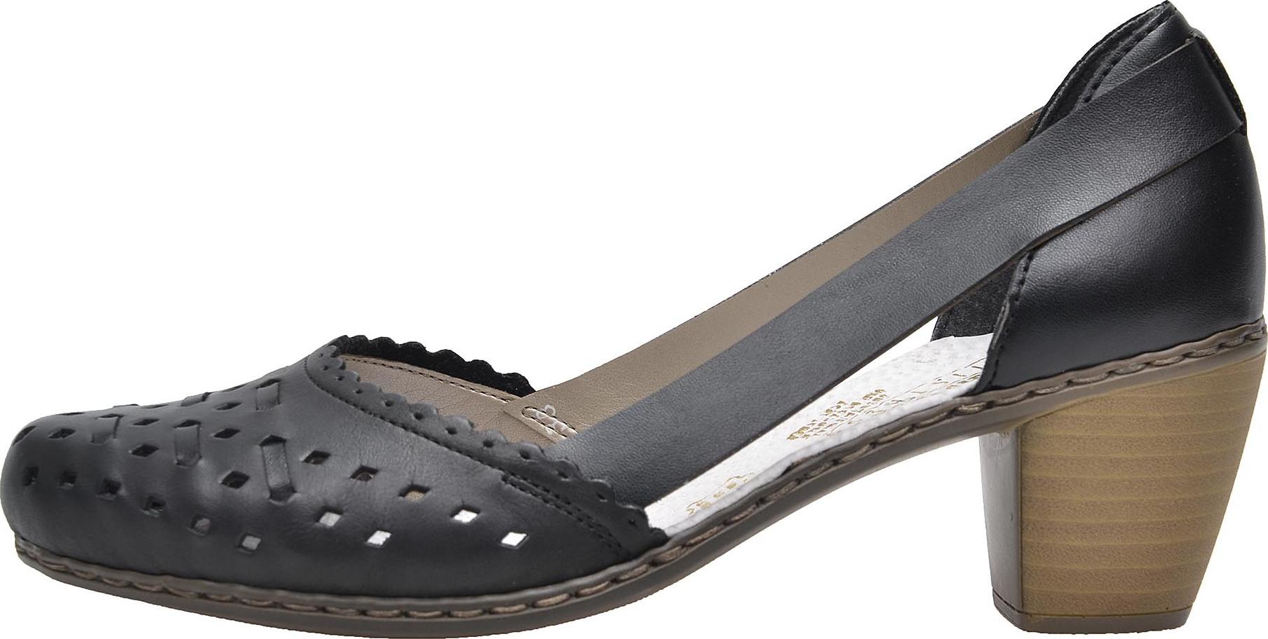 Dámská obuv RIEKER 40985 00 SCHWARZ F S 8 – Rieker Antistress 90aee4d24e