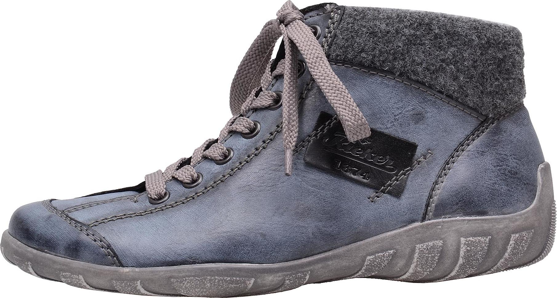 5ac702beeea Dámská obuv RIEKER L6540 14 BLAU KOMBI H W 6 – Rieker Antistress