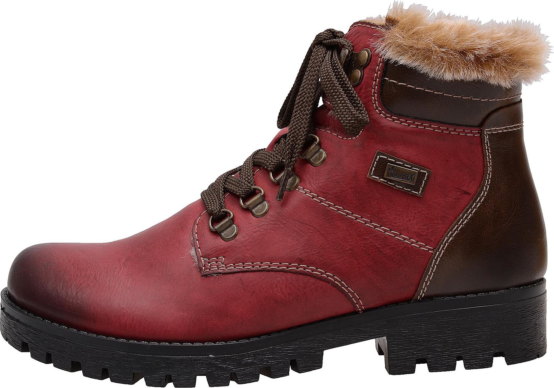 Dámská obuv RIEKER 785D1 35 ROT KOMBI H W 7 – Rieker Antistress c24ebd47ee